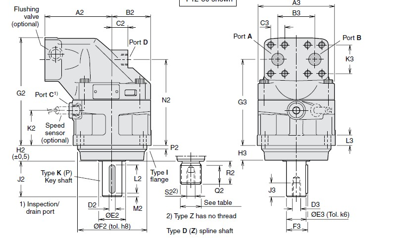 派克轴向柱塞液压马达3783289件f11